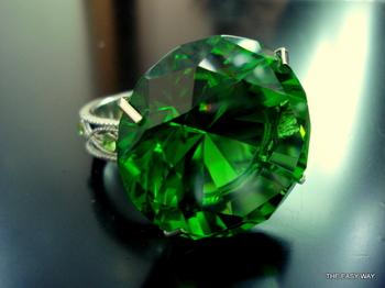 Napkin Ring Emerald