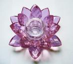 Lotus Candle Holder. Pink