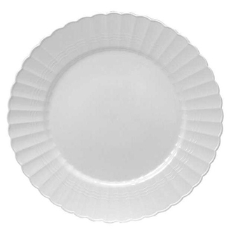 Round Side plate. 18 pieces.