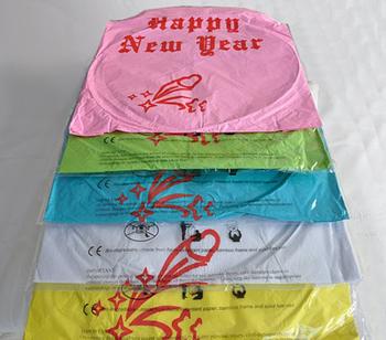 Happy New Year - Blå. 6 st.