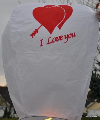 I Love You - White