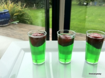 Clear shot glas. 15 pieces
