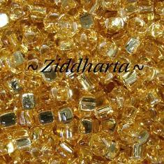 10gram GOLD SL Miyuki 4mm Triangles 5/0