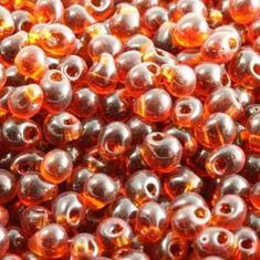 10gram Miyuki Dk Amber GlasTårar 4x3mm - DP134
