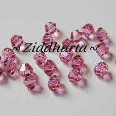 Swarovski 4mm Bicone - Rose - 8st
