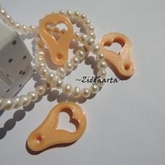 3st Silk Peach #21: Mynt-hjärtat till kundvagnen - finaste varuvagns-poletten ever!