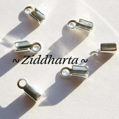 6st Hållare Smyckesband 'Medium' ca 9x4mm - GP