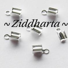 6st Hållare Smyckesband 'Small' ca 7x3mm - GP