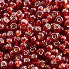 10gram Miyuki Seed Beads 11/0 - #2427 Garnet SL - ca 1000 pärlor