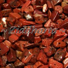 10gr Röd 'Poppy' Red Jaspis  chips
