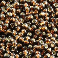 10gram Miyuki Seed Beads 11/0 - #29 Dk Topaz SL - ca 1000 pärlor