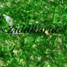 10gr Lt Emerald Glas-chips