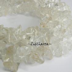 ca5cm Bergkristall: Nuggets /Big Chips ca10-12 st