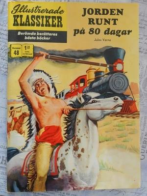 ILLUSTRERADE KLASSIKER - JORDEN RUNT PÅ 80 DAGAR