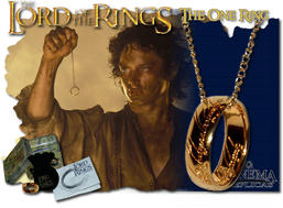 The One ring inkl. kedja