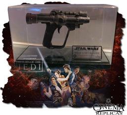 Scout trooper Blaster ink display och skylt.