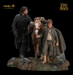 LOTR: Fellowship of the Ring Diorama Set 3