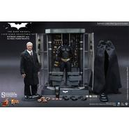 The Dark Knight: Batman Armory with Alfred Pennyworth 1:6 scale figure set