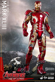Iron Man Mark XLIII Sixth Scale Collectible Figure