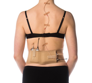 Beige waist belt, medium