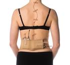 Beige waist belt, medium