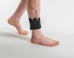 Black ankle belt