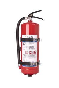 Brandsläckare 6 kg Presto ink. fordonsstativ