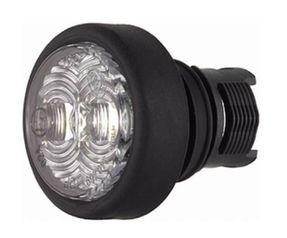 Positionslykta vit LED hella