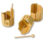 Rörtrummor, 6 olika modeller