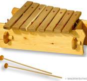 Marimba Diatonisk 8 toner