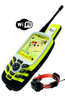 Hundpejl BS3000EVO MAP WIFI + Halsband BS602.Ljud