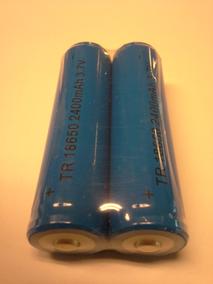 2-pack Batteri TR18650. 2400 mAh