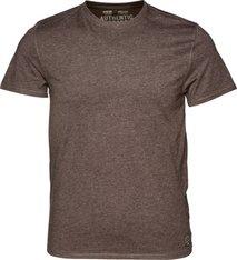 Seeland T-shirt i basmodell, 2-pack