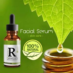 Retinol 2.5% Moisturizer Face Oil Vitamin E