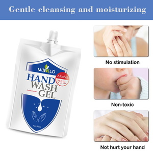 Antibacterial Antiseptic 75% Alcohol Hand Sanitizer Gel