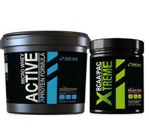 Self Micro Whey Active 4kg + Xtreme BCAA 250g