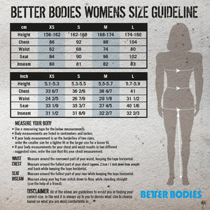 Better Bodies Athlete Short Top