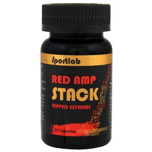 Sportlab Red AMP Stack 50 cap