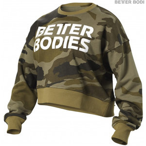 Better Bodies Chelsea Sweater - Camo