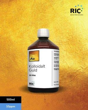 Kolloidalt Guld – 500ml / 10ppm