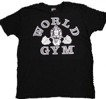 Worldgym Burnout Tee