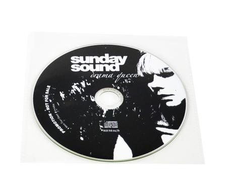 CD med tryk i plasticcover