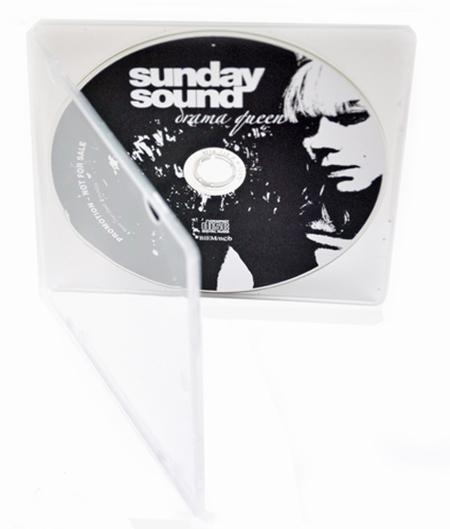 CD med tryk i PP CD Case