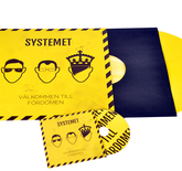 Pressed Vinyl with print Combo (vinyl + CD) 12 tum Standard envelope - from 100pcs