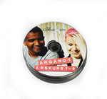 DVD with print in bulk pack
