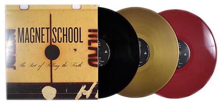 Flerfarget produksjon Vinylpressing