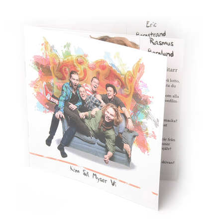 CD booklet  4+4C
