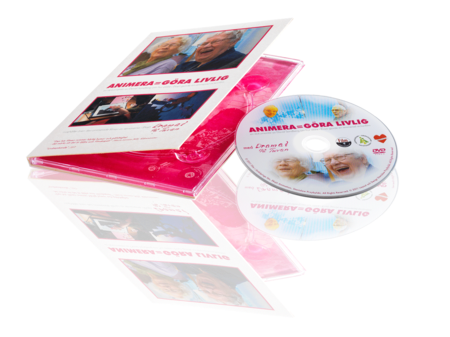 CD with print in 4-sided DVD Digipak