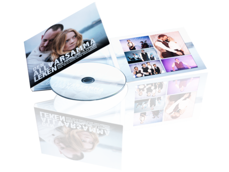 CD with print in 6-sided Digipak