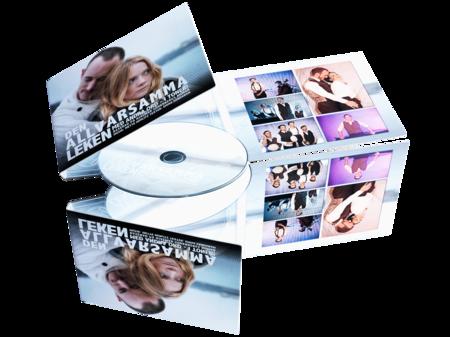 CD painatuksella 6-sivuinen Digipack